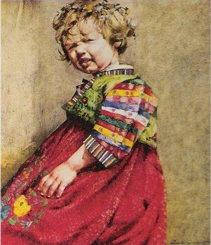 Jerzy Duda Gracz, portret córki
