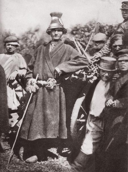 Деревенские парни. 1900-е гг.