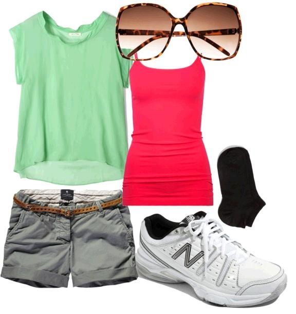 """band camp outfit. perfect for a summer day on a sweltering hot field"" <-- The person i repinned this from. I would wear this anywhere else BUT our band camp. Its cute though!"