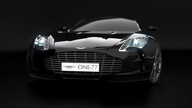 Aston Martin - One-77 Modeling, Texturing, Lighting, Rendering Maya, V-Ray, Photoshop