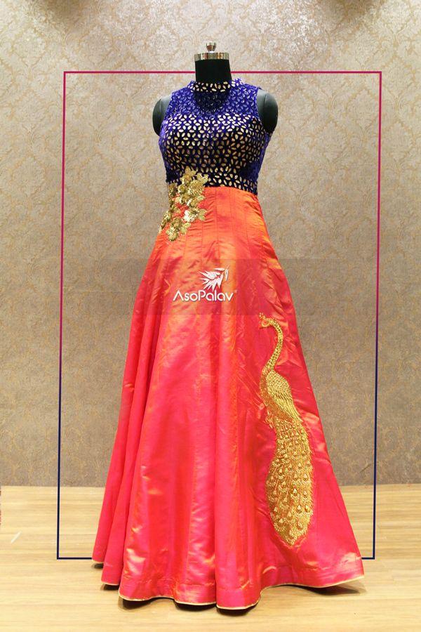 There's something about the #IndianMotifs that we #DesignerGowns #Asopalav #Ahmedabad #ReceptionWear #Granduer #Royal #elegance #elegantmotifs #ElegantBridalWear #DesignerCollection #NewCollection #Indianweddings #Indianfashion #BigFatIndianWeddings #Bridalwear #BridalElegance #NewGenerationBrides #IndianEthnicWear #bridalboutique #bridalinspiration #NRIBrides