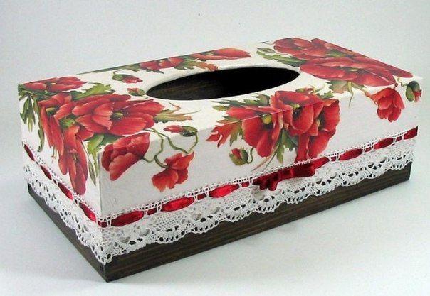 Materiales gráficos Gaby: Técnica Decoupage para realizar cajas de servilletas