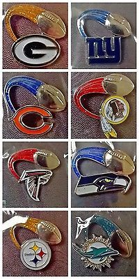 Nfl american #football #glitter trail team logo #collectible pin badge,  View more on the LINK: http://www.zeppy.io/product/gb/2/322061104715/
