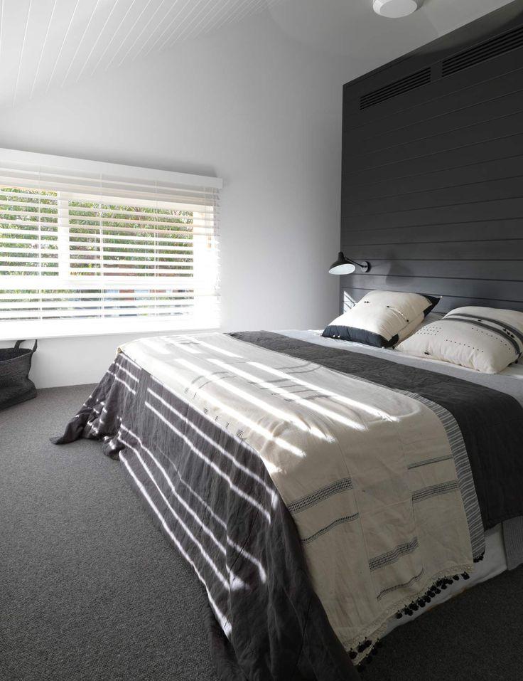 Interiors | alwill  #blinds #bedroom #wood #dark