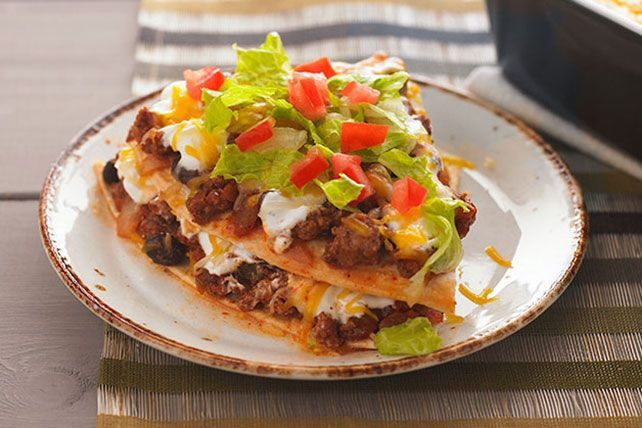 Watch now to learn how to layer the ingredients for this Enchilada Bake…