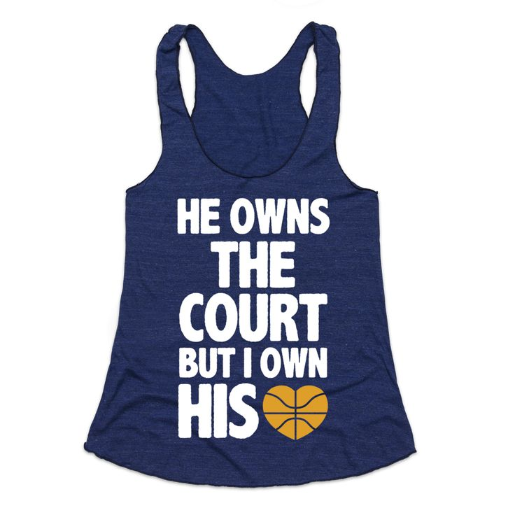 If you own the heart of a baller, this shirt is for you. Show off your basketball girlfriend pride and cheer on your man with this tank. Perfect for those who love to rep their man on the basketball court. #love #basketball #boyfriend #girlfriend #court #heart