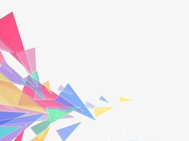 Fundo Geométrico De Moda A Moda Da Geometria Ppt