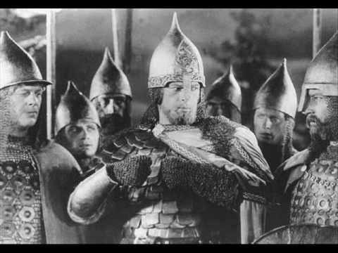 """Film: """"Alexander Nevsky"""" (Director: Sergei Eisenstein). Score/Music: """"Battle on the ice"""" (Sergei Prokofiev). It was 1938 and this was a portrait of what was to come. Commonly regarded as the key figure of medieval Rus', Alexander rose to legendary status on account of his military victories over German invaders."""