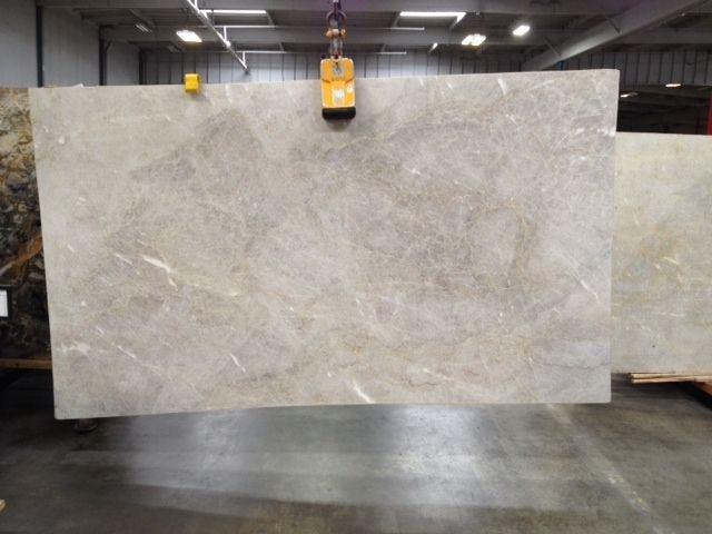 White Marble Kitchen Counter