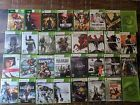 xbox 360 game lot 24 games tested & working call of duty skyrim mass effect