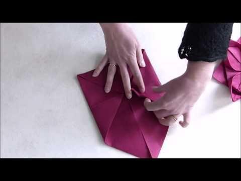 best 25 pliage serviette nenuphar ideas on pinterest. Black Bedroom Furniture Sets. Home Design Ideas