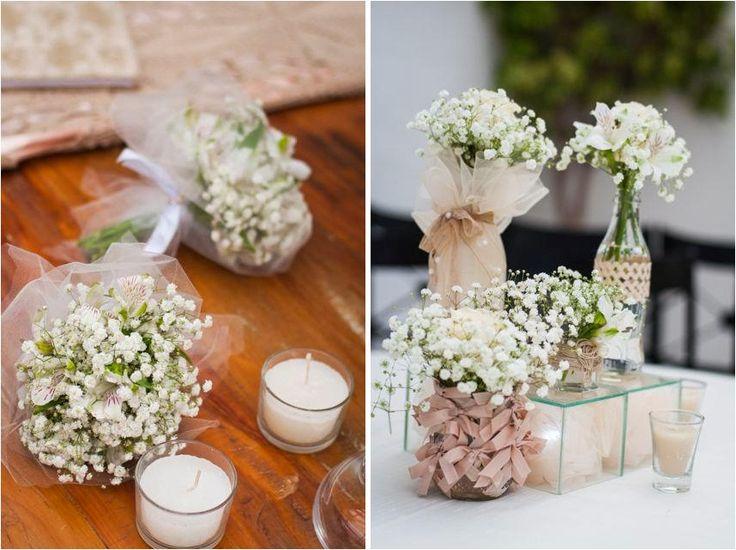 decoração casamento miosótis decoração de Casamento Rustica