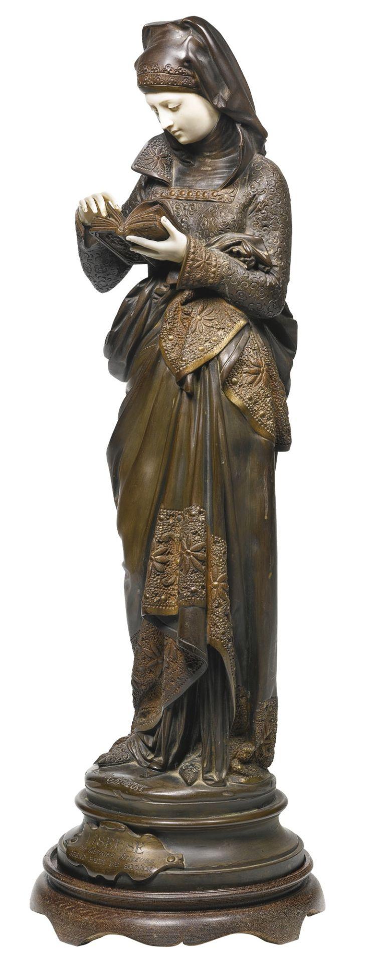 Albert-Ernest Carrier-Belleuse (1824-1887), La Liseuse.   http://41.media.tumblr.com/041761825120802c2ee836c67944284c/tumblr_nyooyvFMUZ1uvd0n3o1_1280.jpg