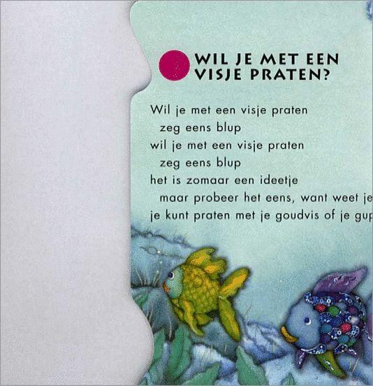 Versje mooiste vis van de zee