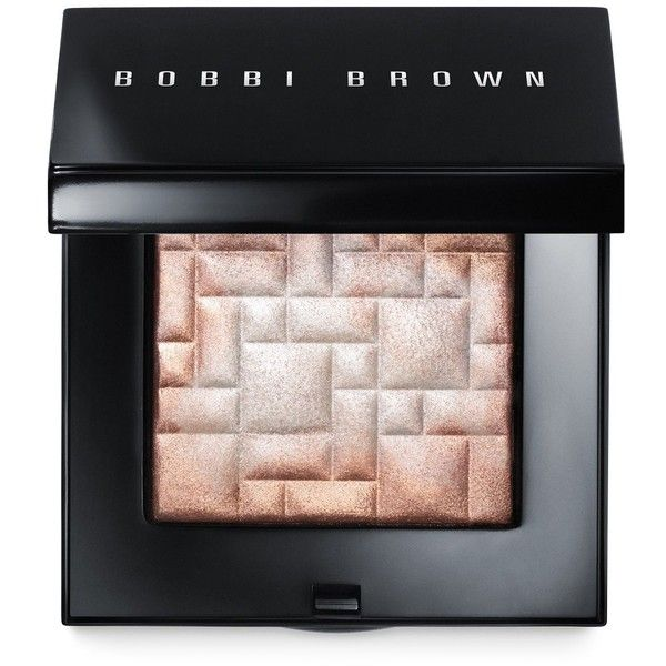 Bobbi Brown Highlighting Powder, Glow Collection ($46) ❤ liked on Polyvore featuring beauty products, makeup, face makeup, face powder, beauty, accessories, cosmetics, faces, pink glow and highlight face makeup