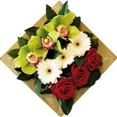 Composition florale Emeraude - (Catégorie : Composition de f ...