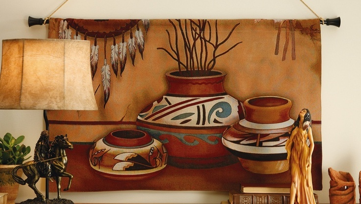 southwestern adobe pottery native american indian wall on wall hangings id=56199