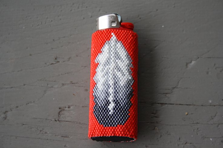 Beaded lighter cover!