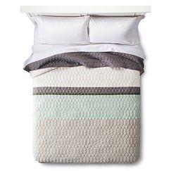 Color Block Quilt- Room Essentials™ - CHILLOUT SAGE