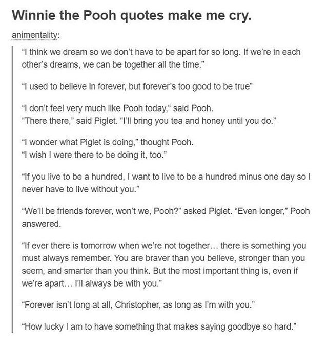 how taoism relates to winnie the pooh philosophy essay Posts about winnie the pooh written by fargo  it's very similar to the philosophy of  or a good example of taoism as hoff says, pooh can't describe the.