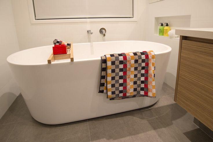 Bathroom. Freestanding bath.