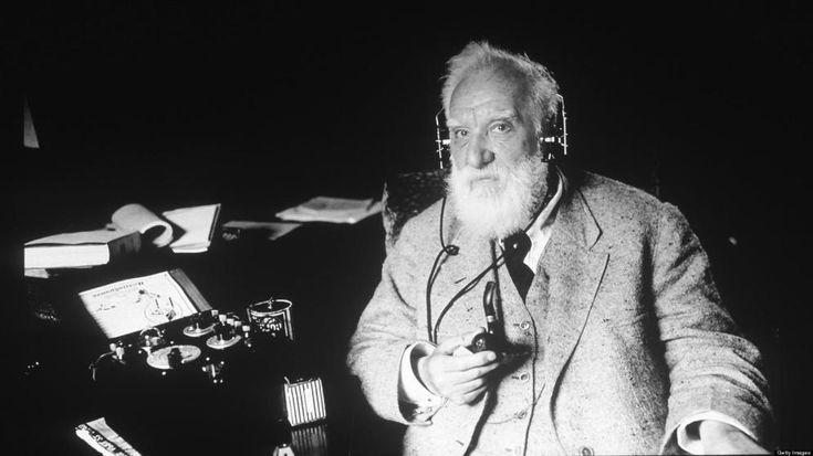 Foto: La física de partículas permite oír la voz de Alexander Graham Bell 130 años después