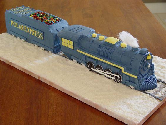 polar express cake | Sam's #4 | Pinterest | Cakes