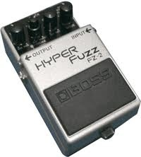 To me, this is the ultimate Fuzz Pedal for a Fender Jazzmaster.  It's like Ric Ocasek's old distortion sound on steroids.