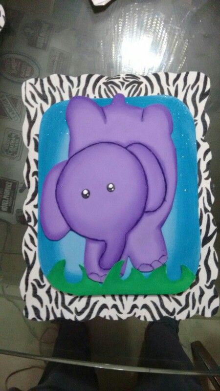 Elefante animal print