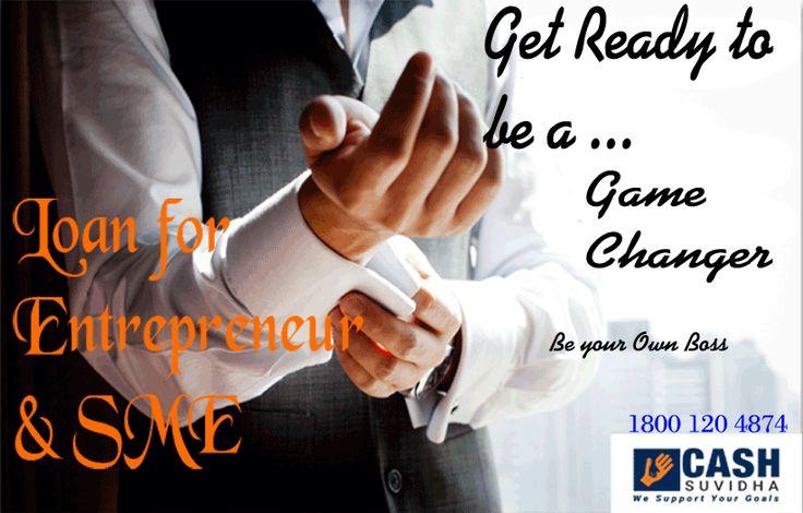 Cash Suvidha - Loan for Entrepreneur and SME  #Fund #Loan #SME #BusinessLoan