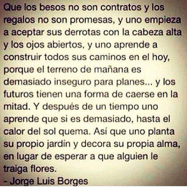 Jorge Luis Borges...