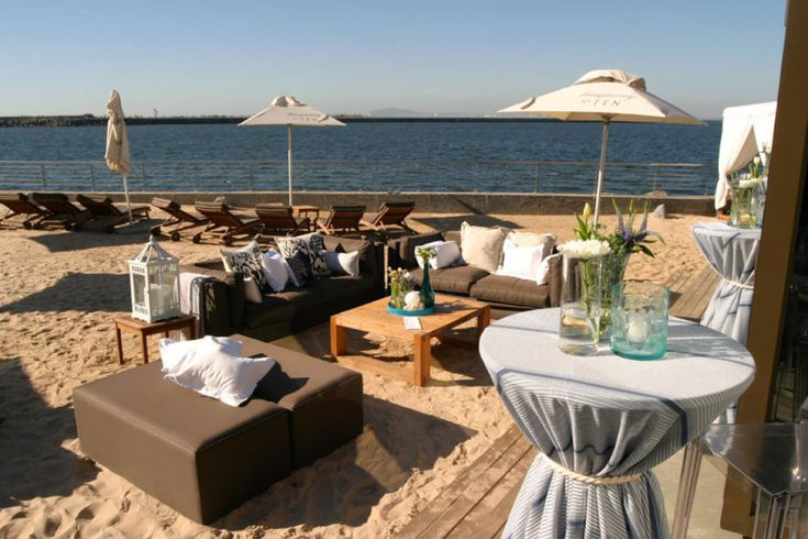 76 best shimmy 39 s beach images on pinterest beach club for Cocktail tables to hire in cape town