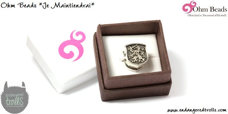 Ohm Beads limited edition Je Maintiendrai