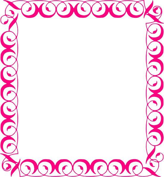 Pink Wedding Borders Clip Art: 89 Best Border Clipart Images On Pinterest