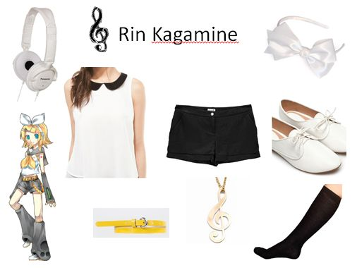 Rin Inspired Outfit
