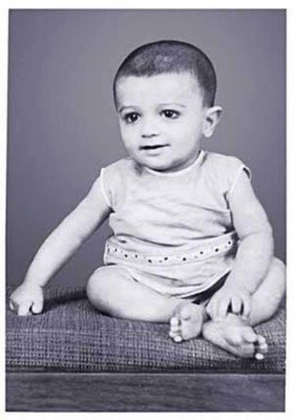 Ajith Kumar Childhood Photos