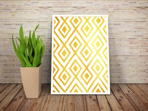 Gold Foil Patterns by WildAtArtDesigns on Etsy