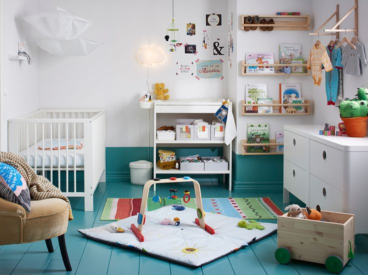 25 best ideas about gulliver ikea on pinterest crib desk baby room and ikea kallax nursery - Kleur kamer ...