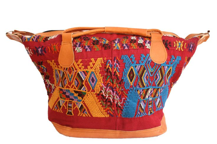 Medium Huipil Bag-Poptun – Humble Hilo