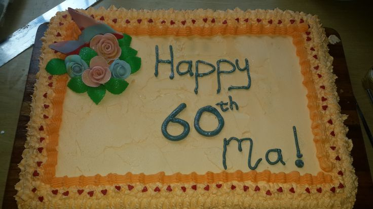 Birthday cake for mother-in-law