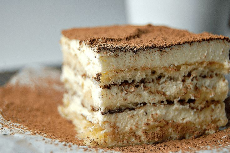 Italian Tiramisu Recipe - Amy in the Kitchen
