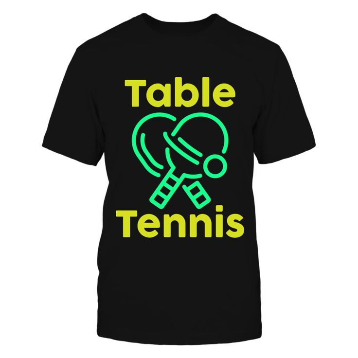 Table Tennis Graphic T-Shirt T-Shirt, Makes a perfect gift for anyone who loves table tennis, or for someone who is a proud table tennis player. Design Not available in stores.  ,  Available Products:          Gildan Unisex T-Shirt - $22.95 Gildan Long-Sleeve T-Shirt - $29.95 Gildan Unisex Pullover Hoodie - $39.95 Next Level Women's Premium Racerback Tank - $25.95 Pack of 4 stickers - $10.00       . Buy now => https://www.fanprint.com/table-tennis-tee?ref=2502