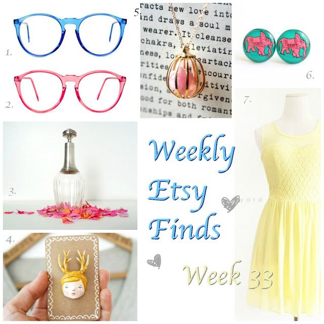 Etsy Finds Of The Week #9