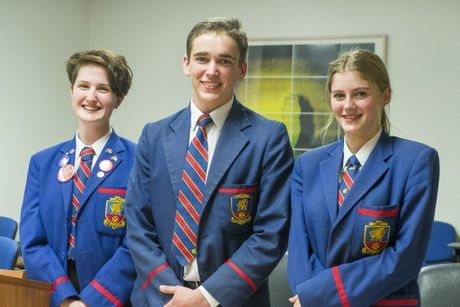 Downlands College students Clancy Tully, Hamish Holden and Bree Trunley have advanced to the grand final of the University of Southern Queensland (USQ) Secondary Schools Moot Court Competition I via Chronicle online