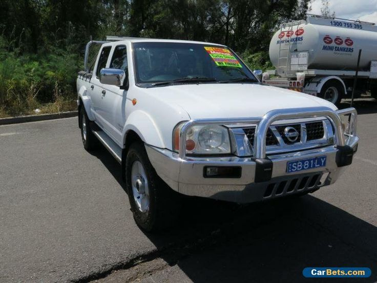 2006 Nissan Navara D22 S2 ST-R White Manual 5sp M 4D UTILITY #nissan #navara #forsale #australia