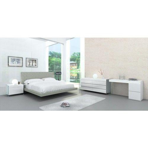 Casabianca Furniture   Zack Queen Bed In Grey   CB C1301 QG