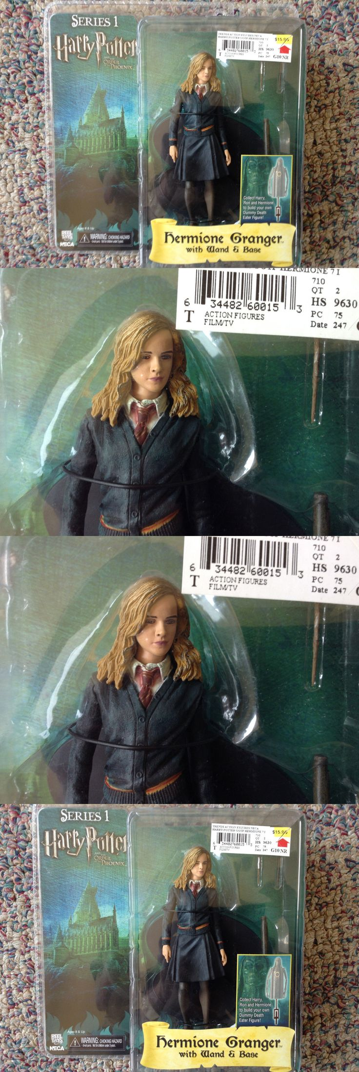 Harry Potter 11077: Harry Potter Series 1 Hermione Granger Action Figure Neca Moc -> BUY IT NOW ONLY: $49.99 on eBay!