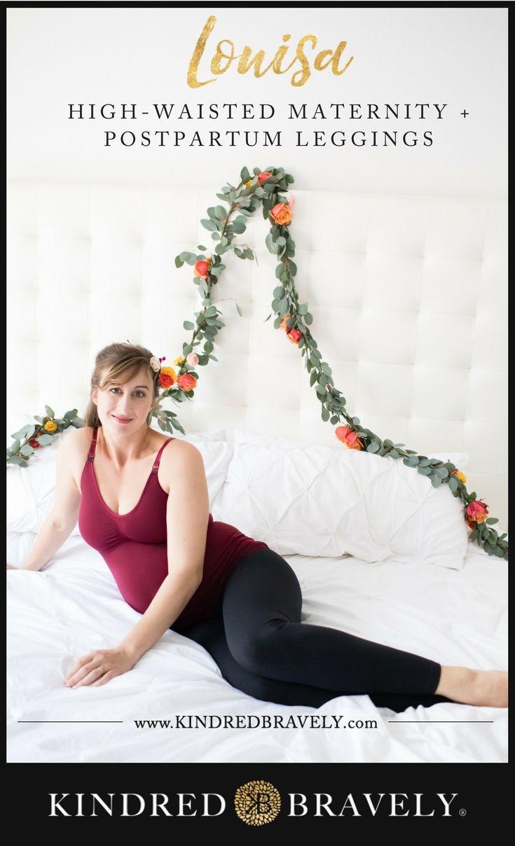 0b21087d2c0d2 The Louisa Ultra High-Waisted Maternity   Pregnancy Leggings ...