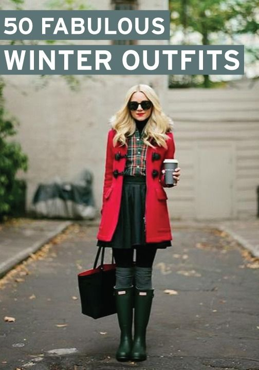 Looking for the latest in winter fashion? Try one of these 50 fabulous winter outfit ideas!