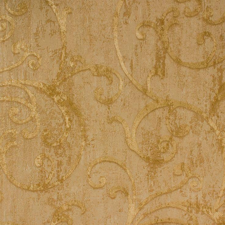 Tapete Barock Struktur gold Tapeten Rasch Textil Angelica 009533